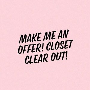 Tops - ACCEPTING LOW OFFERS! Closet clear out!